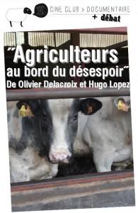 """""""Agriculteurs au bord du désespoir"""", titre un documentaire. Les animaux, eux, ils sont au bord de quoi ?"""