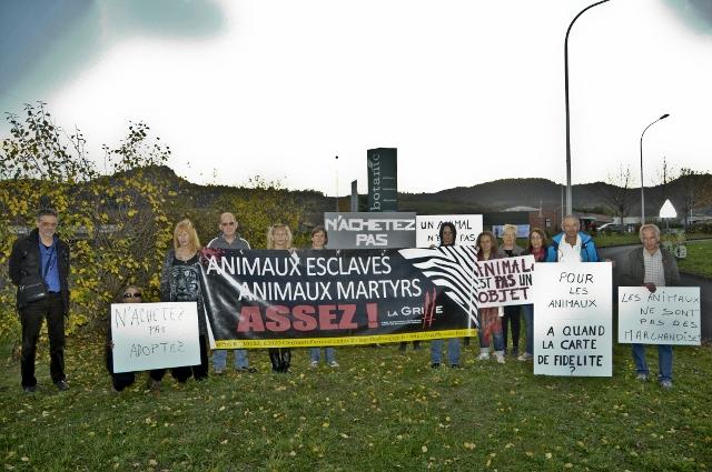 Pour La Griffe, les animaux ne sont pas à vendre