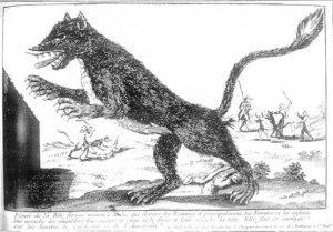 La bête du Gévaudan, dangereuse et maléfique.